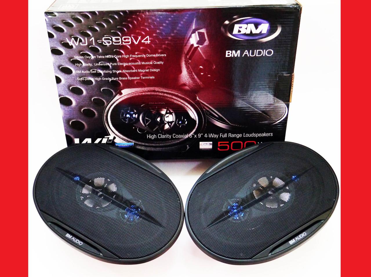 Автомобільна акустика BOSCHMANN BM AUDIO WJ1-S99V4 6x9 500W 4х смугова