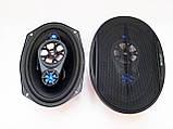 Автомобільна акустика BOSCHMANN BM AUDIO WJ1-S99V4 6x9 500W 4х смугова, фото 2