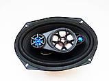 Автомобільна акустика BOSCHMANN BM AUDIO WJ1-S99V4 6x9 500W 4х смугова, фото 4