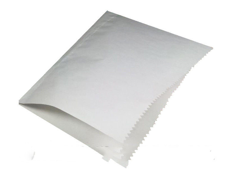 Пакет бумажный для гамбургера 17x17 см белый