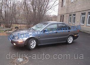Ветровики Cobra Tuning на авто Volvo S40 I Sd 1995-2003 Дефлекторы окон Кобра для Вольво С40 1 седан 1995-2003
