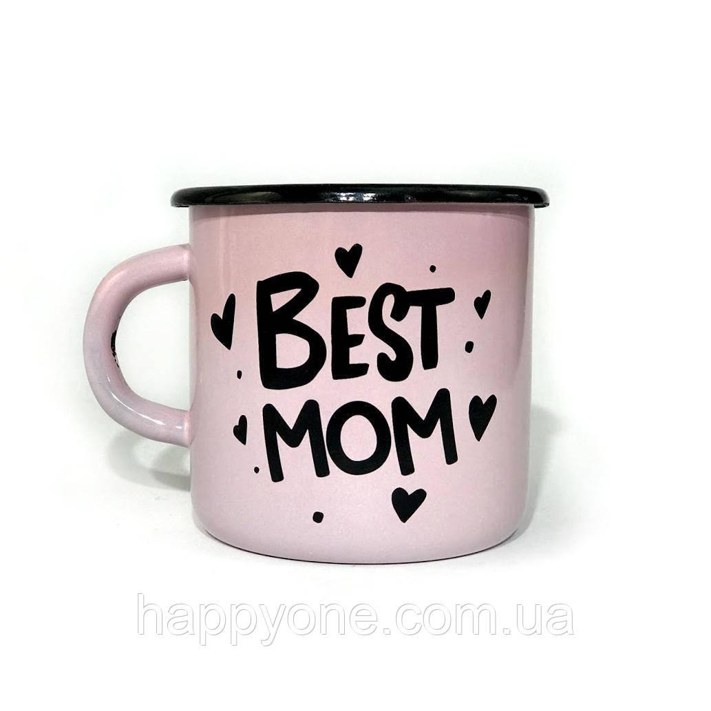 Чашка эмалированная «Best mom» (270 мл)