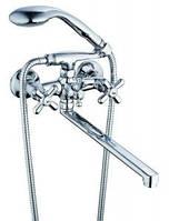 Смеситель (Латунь) ISO_Zegor XZ51 для ванны T61 DFR-B 722