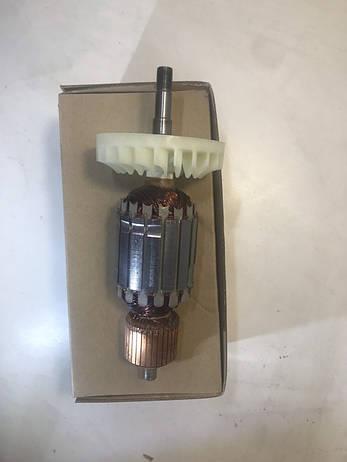 Якір(ротор) болгарки Hitachi 230 круг  оригінал, фото 2