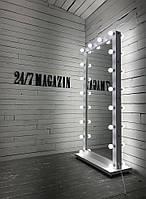 Зеркало напольное двухстороннее с подсветкой M609 SANK. Для дома или салонов красоты. Дзеркало