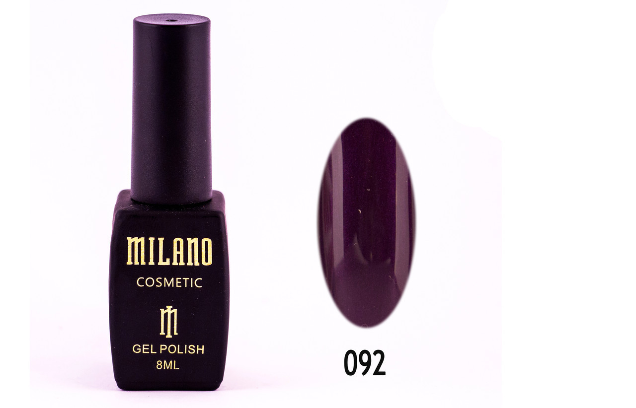 Гель-лак Milano 8 мл. №092⭐⭐⭐⭐⭐