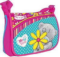 """Детская сумка почтальонка TB-01 """"Me to You"""" 1 Вересня 551738 малиновый"""