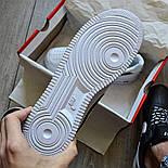 Мужские кроссовки Nike Air Force 1 'NBA Pack' White белые кожаные 36-44р. Живое фото (Реплика ААА+), фото 7