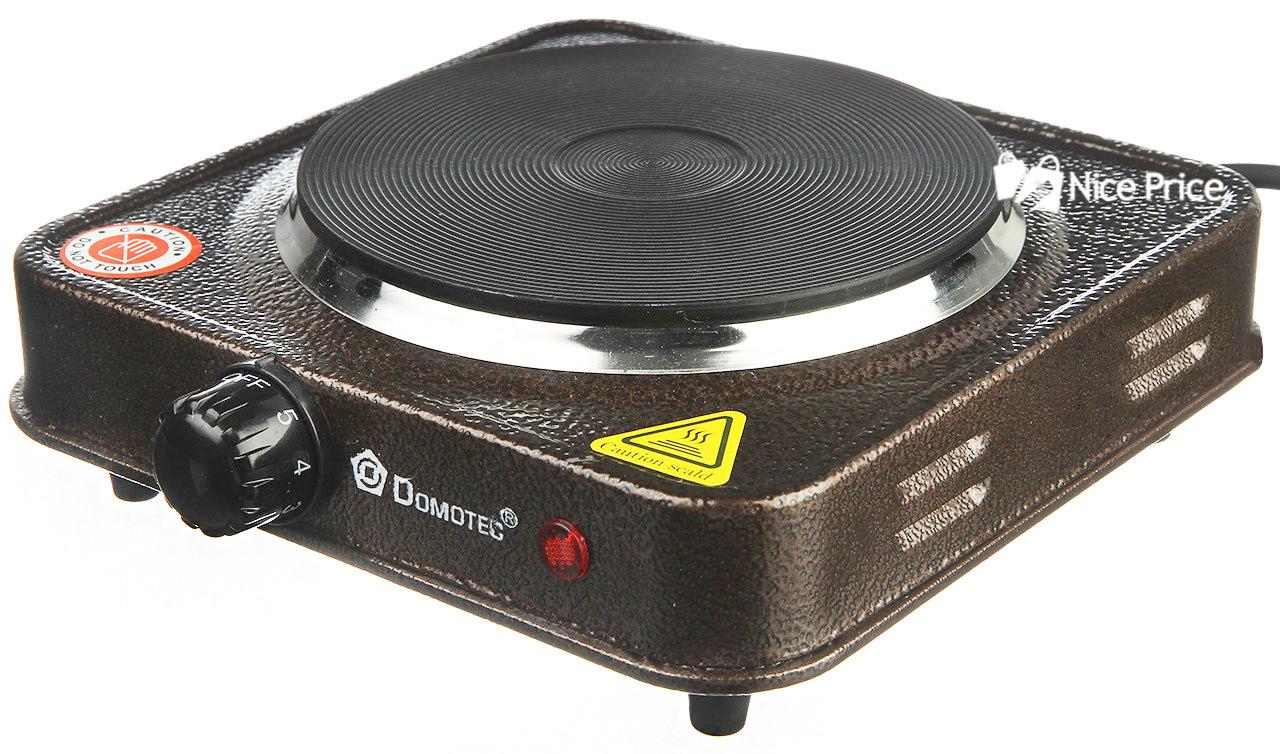 Электроплита Domotec MS-5821 плита настольная Grey (3027)
