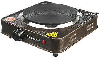 Электроплита Domotec MS-5821 плита настольная Grey (3028)
