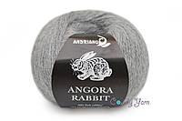 Andriano Angora Rabbit, Серый меланж №611