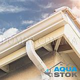 Металлический водосток бесшовный Aquastok 130/100, фото 2