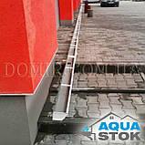 Металлический водосток бесшовный Aquastok 130/100, фото 3