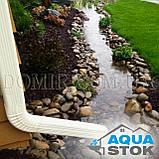 Металлический водосток бесшовный Aquastok 130/100, фото 5