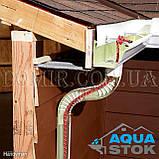Металлический водосток бесшовный Aquastok 130/100, фото 7