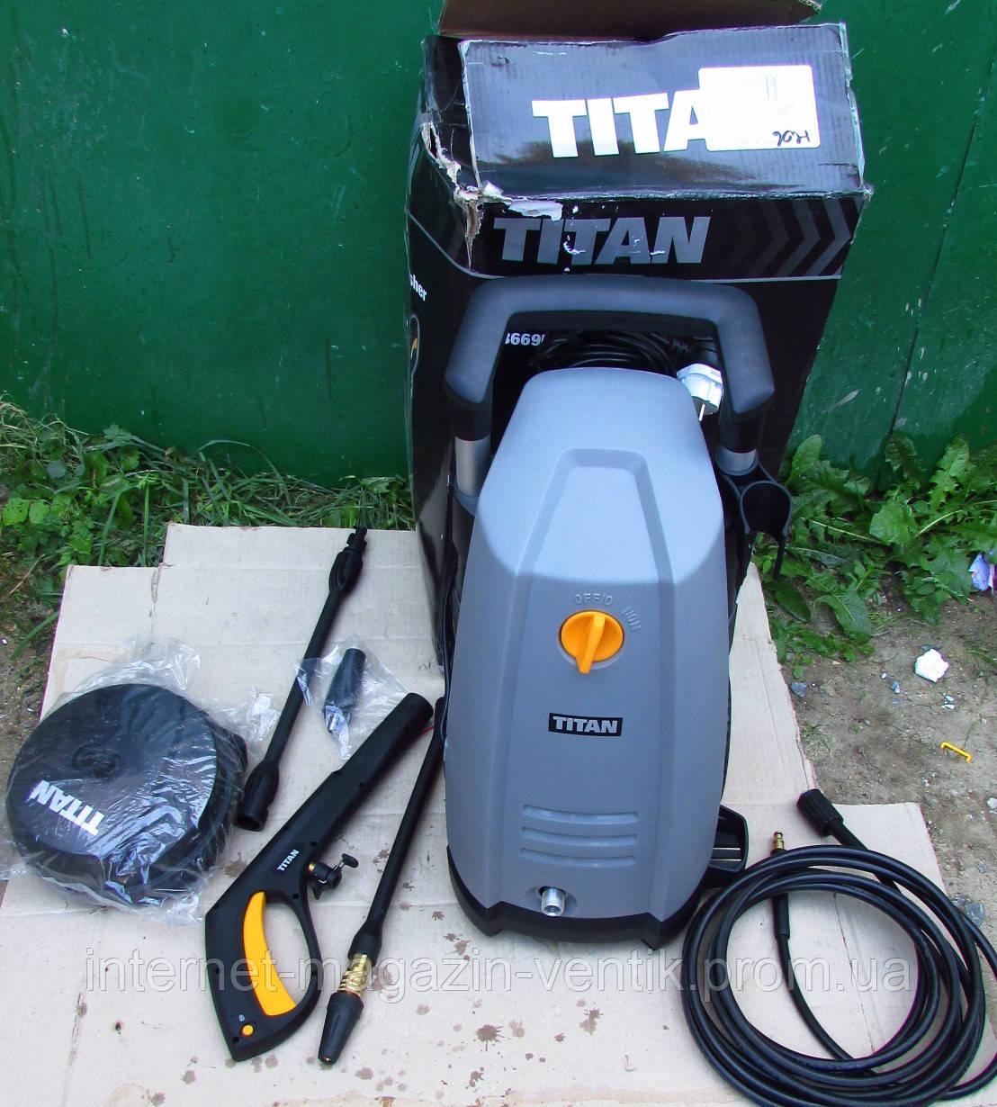 Мойка TITAN TTB669PRW 130BAR 1.8KW мойка высокого давления (Англия)