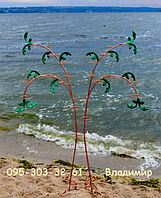 Пальма-2, подставка для цветов на 22 кольца , фото 1
