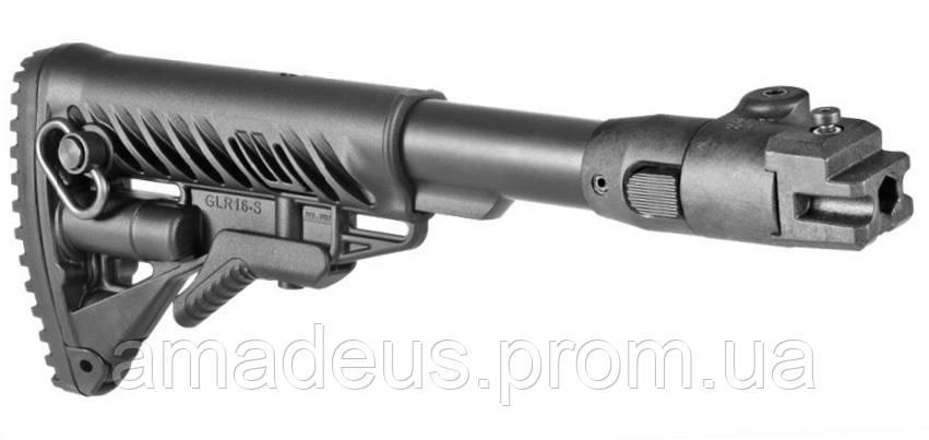M4AKP Приклад складной FAB M4 для AK черный
