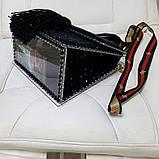 Каркас з прозорого акрилу для виготовлення сумки 22х24 з 4х частин, фото 2