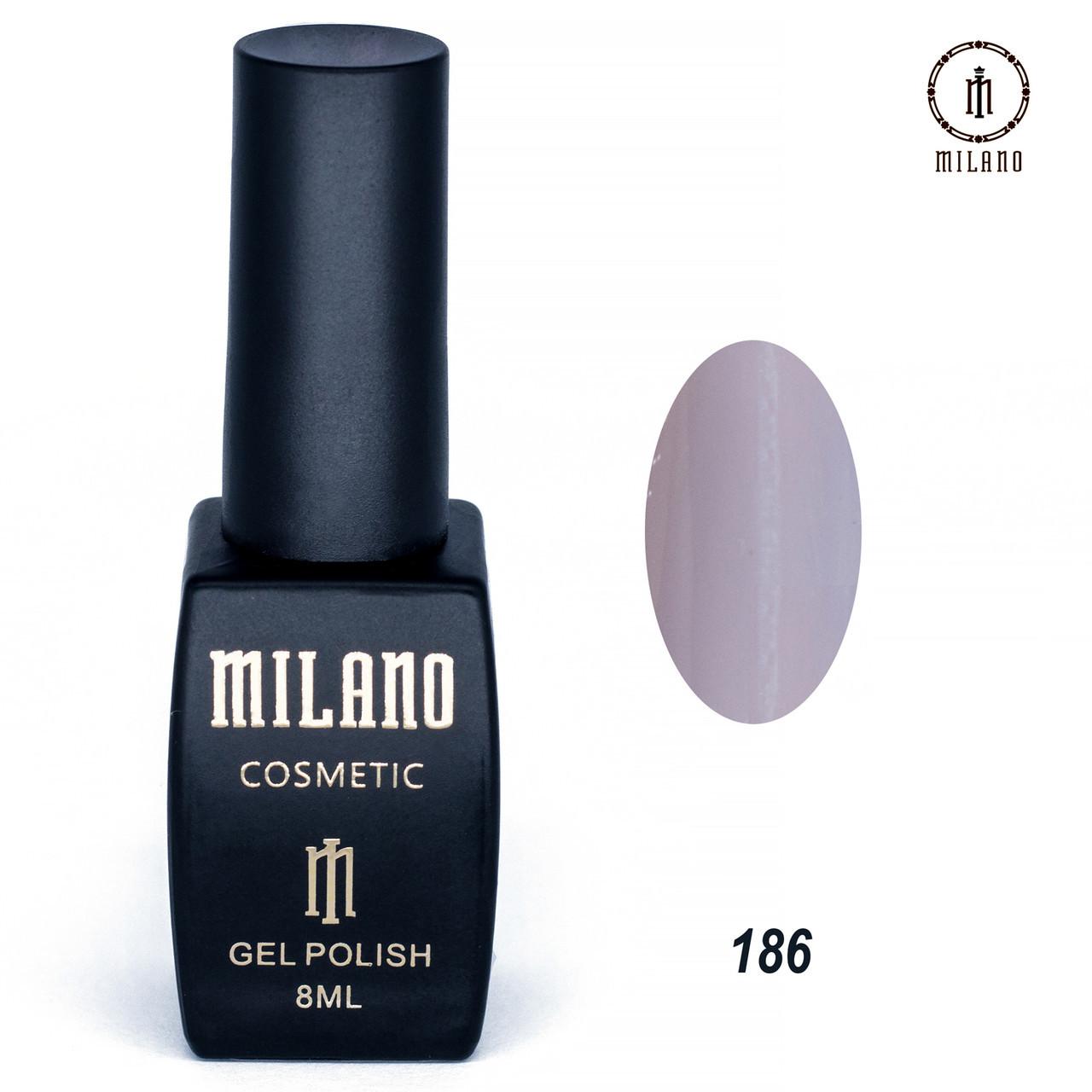 Гель-лак Milano 8 мл. №186⭐⭐⭐⭐⭐