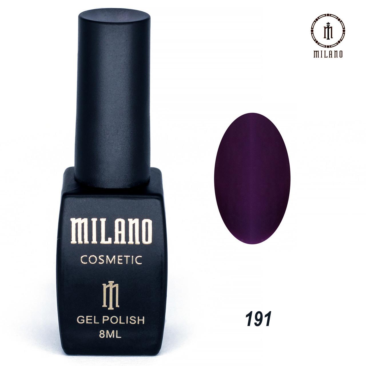 Гель-лак Milano 8 мл. №191⭐⭐⭐⭐⭐