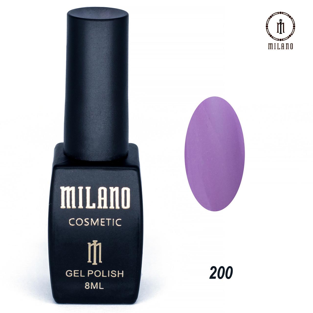 Гель-лак Milano 8 мл. №200⭐⭐⭐⭐⭐