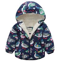 Детская куртка на махре 100, 120
