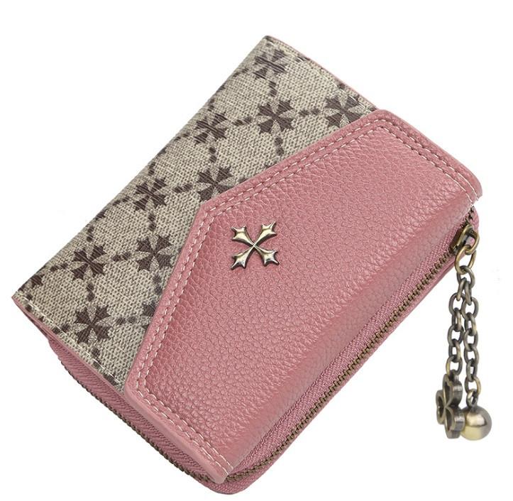 Жіночий гаманець BAELLERRY N5533 Fashion Style Mini клатч Рожевий (SUN5500)