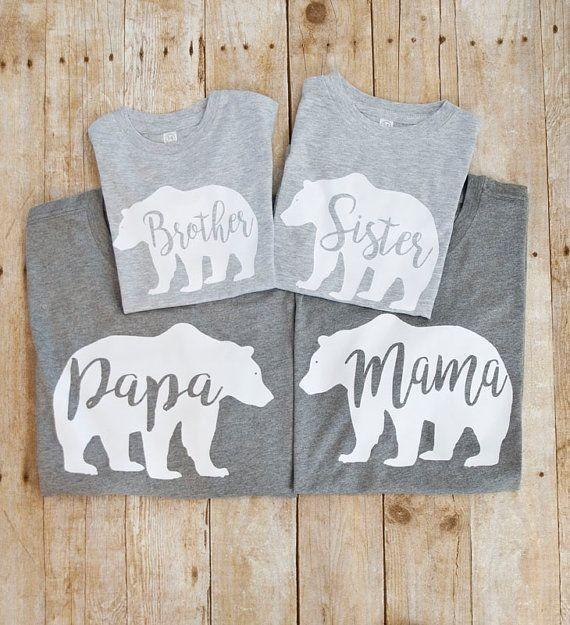 """Парные футболки """"Семья """""""