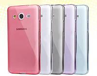 Чехол силиконовый для Samsung Galaxy Core2 Duos G355H прозрачный ультратонкий