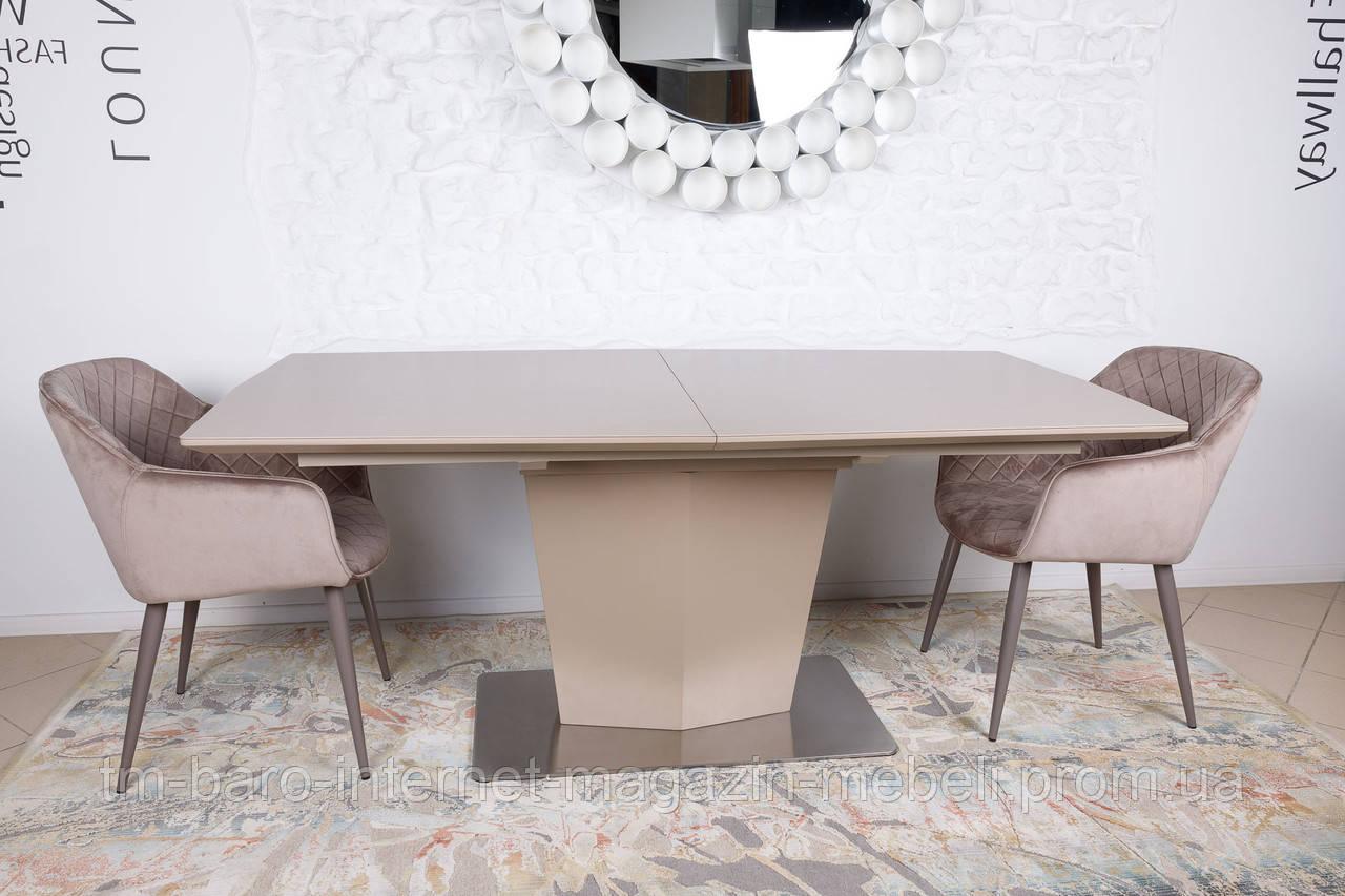 Стол Michigan New (Мичиган), керамика мокко (Бесплатная доставка), Nicolas
