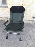 Рыболовное кресло усиленное Elektrostatyk FK5 с широкими подлокотниками (Польша)