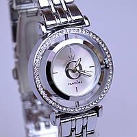 Женские часы PANDORA (Пандора) C35 Silver с вращающемся циферблатом