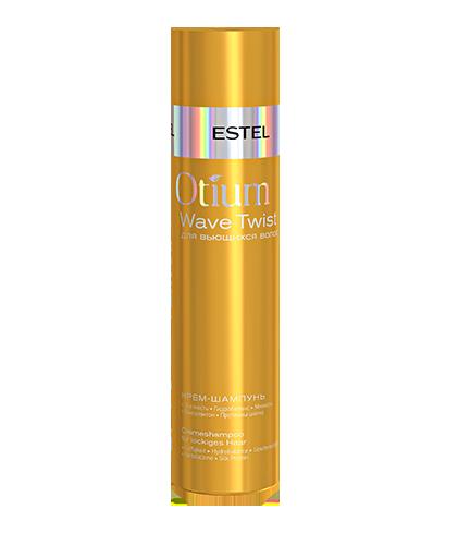 Крем-шампунь для вьющихся волос ESTEL OTIUM WAVE TWIST  250 мл.
