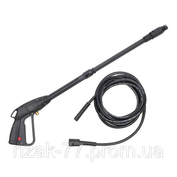 Пистолет КИТ для мини-мойки высокого давления. соединение насадки - защёлка