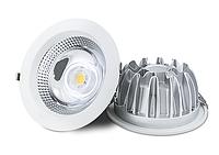 Встраиваемые точечные светильники downlight 25W