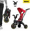 Складной трехколесный велосипед Doona Liki Trike S1, фото 8