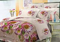 Комплект постельного белья семейный, полиэстер. Постільна білизна. (арт.10184)