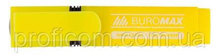 "Маркер текст. ""BuroMax"" флюор. (жовтий) BM.8901-08"