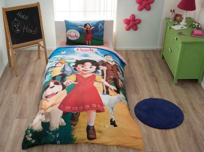 Детское подростковое постельное белье TAC Disney Heidi Ранфорс