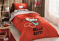 Детское/подростковое постельное белье TAC Hello Kitty Bow Ранфорс
