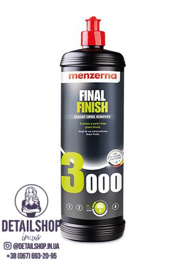 MENZERNA Final Finish FF 3000 Мелкозернистая полировальная паста  1л