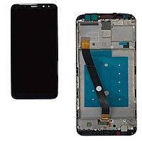 Дисплей Huawei Mate 20 Lite (SNE-LX1) с тачскрином черный в рамке
