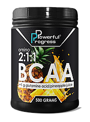 Аминокислоты Amino BCAA 2:1:1 (500 г) Powerful Progress