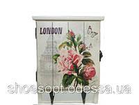 Ключница настенная Лондон в стиле Прованс, фото 1