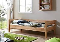 """Кровать односпальная """"Пико"""" дерево ясень 910*2060 мм"""