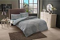 Полуторное постельное белье TAC Janna Blue Ранфорс