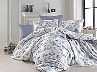 Двуспальное евро постельное белье Nazenin Rosella Ранфорс