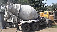 Аренда автобетоносмесителя, автобетономешалки, миксера для бетона на базе КАМАЗ