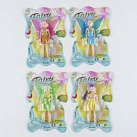 Кукла 0005 (432) 4 вида, 1шт на листе